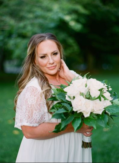 Bridal bouquet by Distinctive Designs by Denice