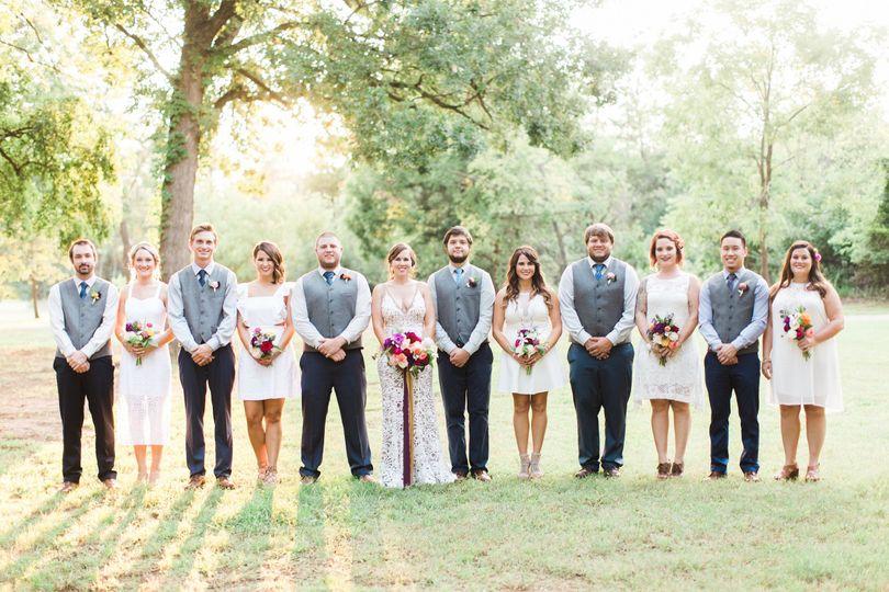 Sunset Bridal Photos