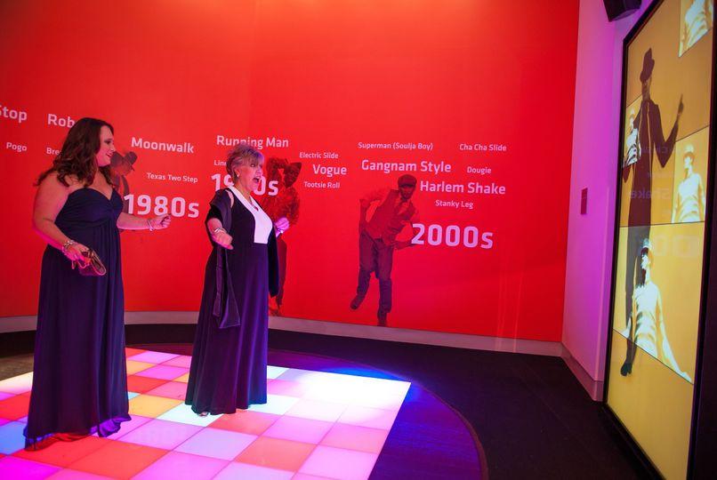 Museum Exhibit-Dance Floor