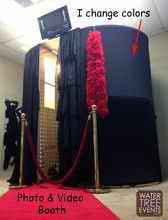 Roll out the red carpet....The Classic black booth.