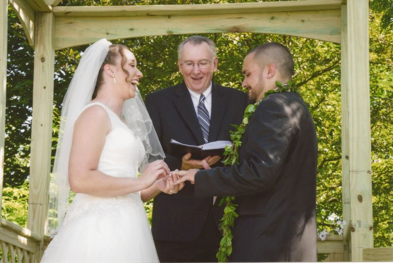 Chicagoland Wedding Pastor Officiant Lake Villa IL WeddingWire