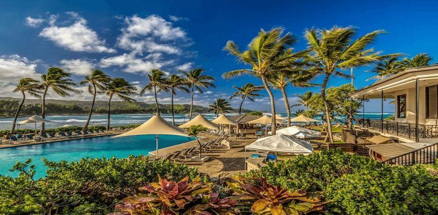Idyllic Hawaiian vacation