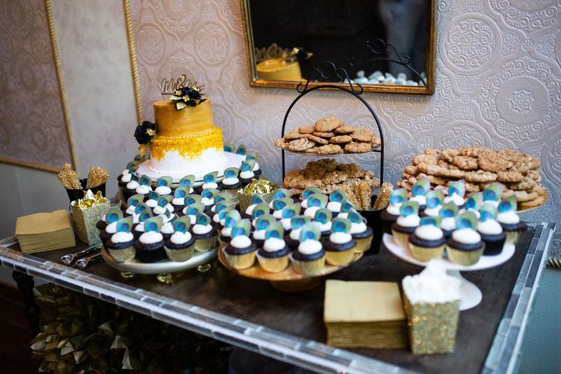 Cake Table Vintage Ballroom