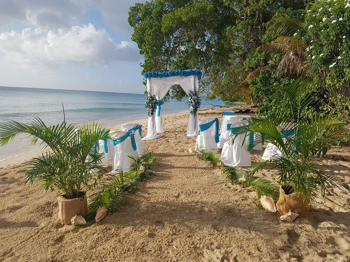 Beach ceremony in St Pete