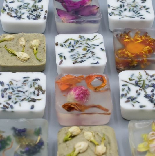 Mini soap favors