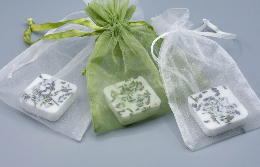 Individually packaged soaps
