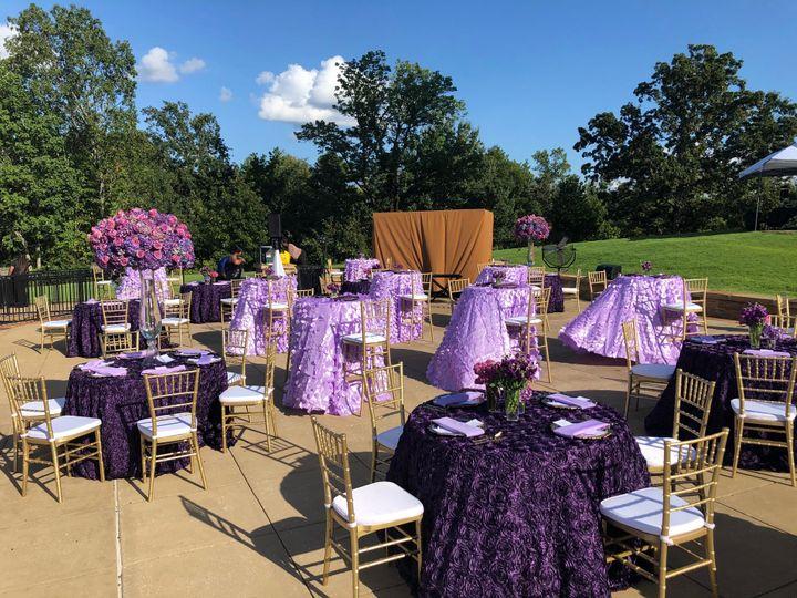 We love outdoor weddings