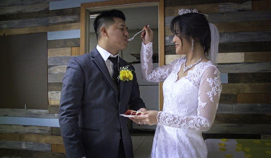 Feed me some wedding cake!
