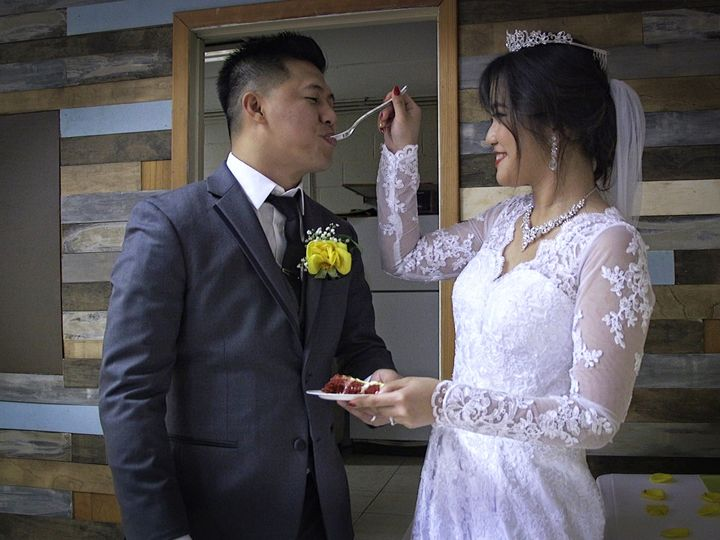 Tmx 1536734119 3ad2cac359bbed16 1536734117 579e672e96f11093 1536734117159 1 Cake Vancouver, Oregon wedding videography