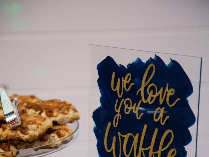 Tmx Acrylic Sign Waffle Bar 51 1895959 158531682853628 Indianapolis, IN wedding invitation