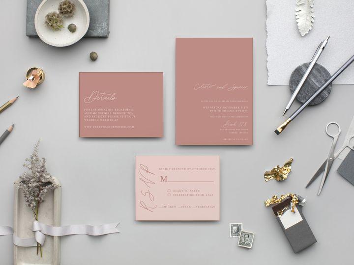Tmx Blush Suite 51 1895959 160581050372945 Indianapolis, IN wedding invitation