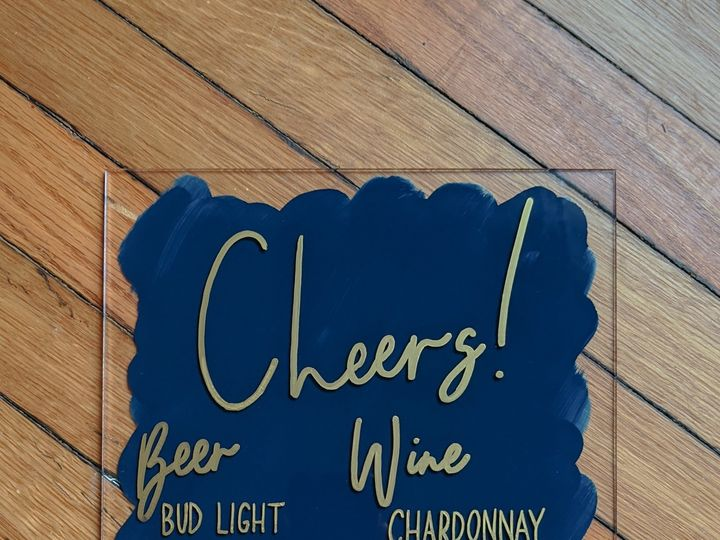Tmx Cheers Bar Sign Blue And Gold Acrylic Sign 51 1895959 158531711949403 Indianapolis, IN wedding invitation