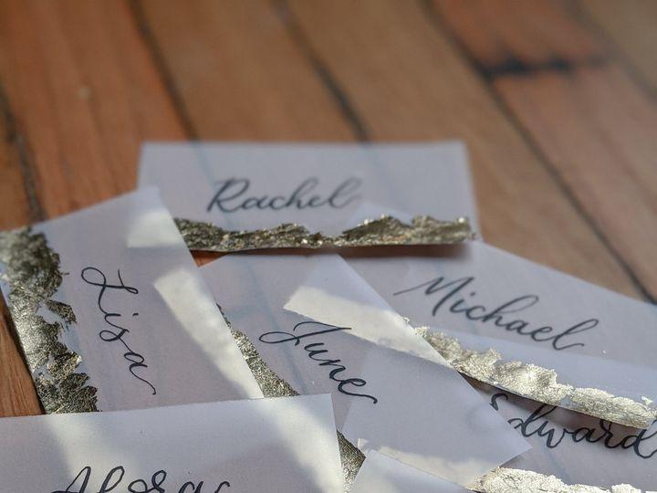 Tmx Gold Foil Black Ink Vellum Place Cards 51 1895959 158531655698817 Indianapolis, IN wedding invitation