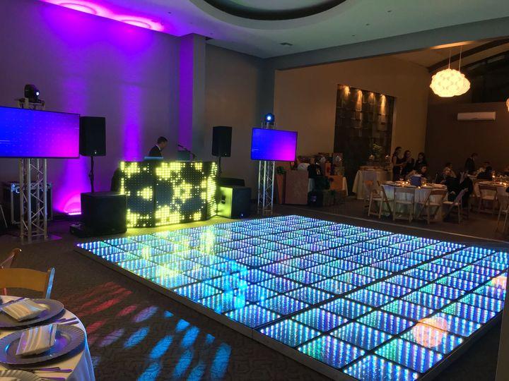 DJ and Dance floor