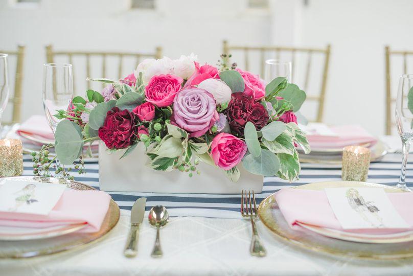 posh floral stylized valentines brunch 12
