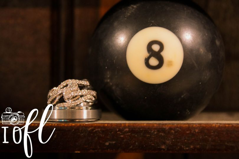 Rings and a 8-ball