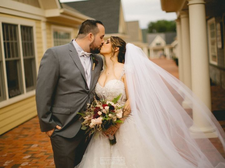 Tmx 1513806186168 Bride And Groom Kiss Shoppes Wading River, New York wedding venue