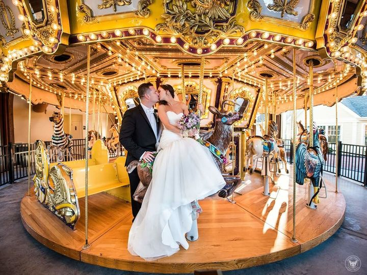 Tmx 1513806262645 Krista And Kj Carousel Wading River, New York wedding venue