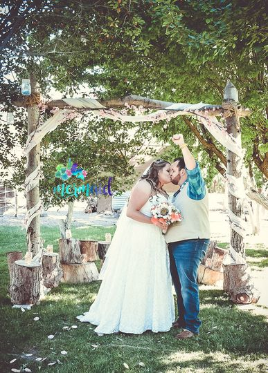 Rustic Outdoor Wedding. Indian Springs Ranch, NV 2017