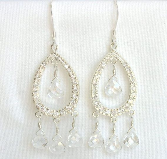 Gorgeous chandelier earrings
