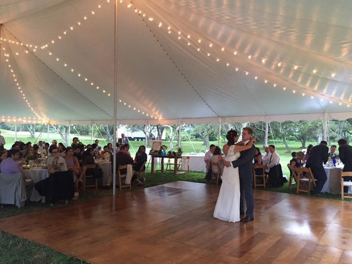 Wedding Dance Quail Hill Farm 2016