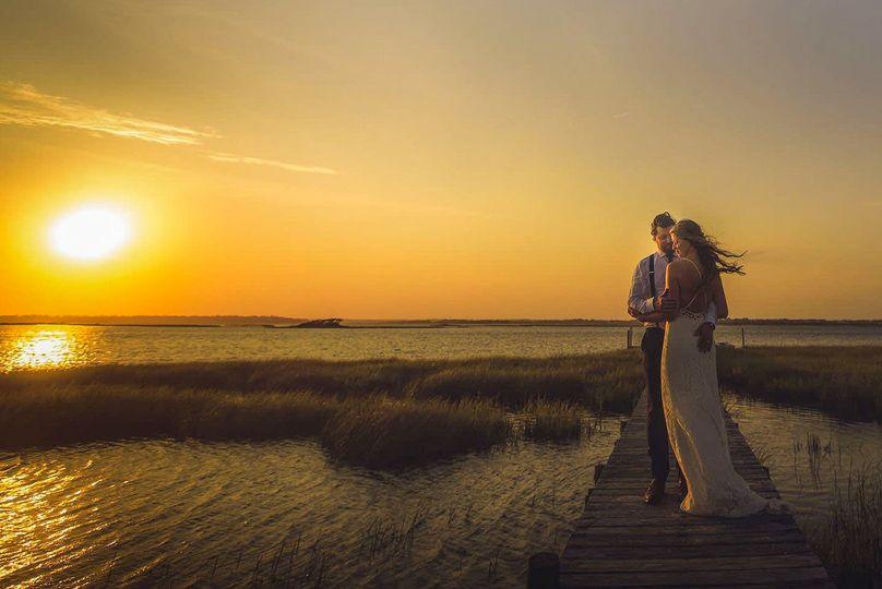 beach wedding sunset emerald isle love1 51 3069 1571945718