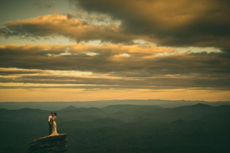 NC Mountain Sunset