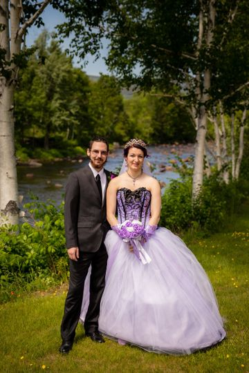 A beautiful country wedding