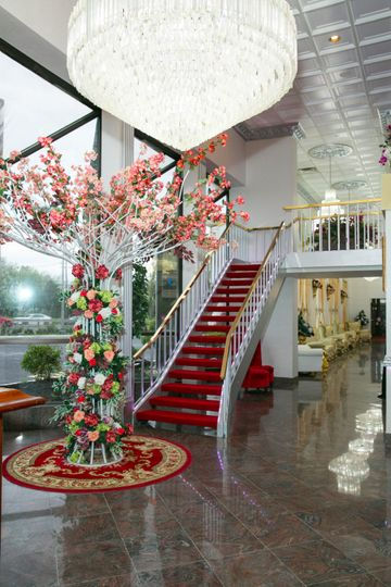 Stairs to Bridal Suites