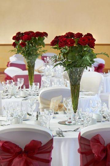 hilton cobham wedding catering