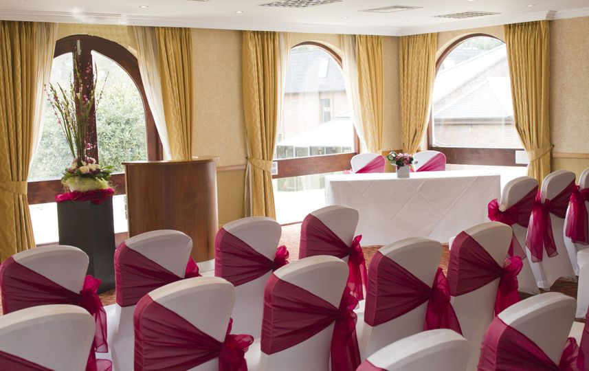 hilton cobham wedding decorations