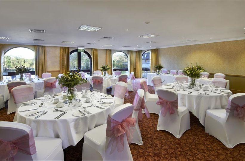 hilton cobham wedding hall