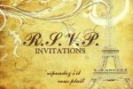 R.S.V.P. Invitations image
