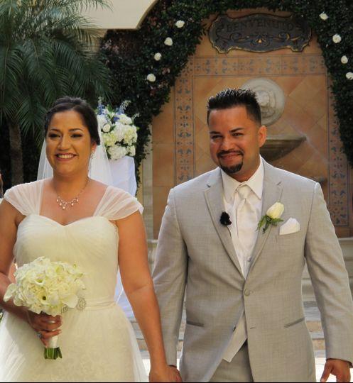 Benvenutos wedding