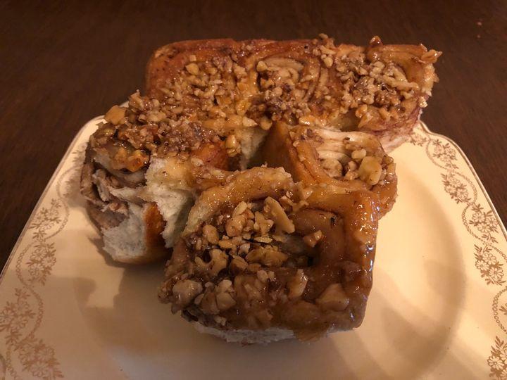 Carmel sticky buns