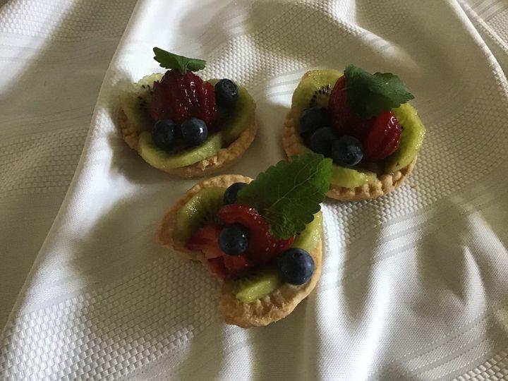 Mixed Berry Tort