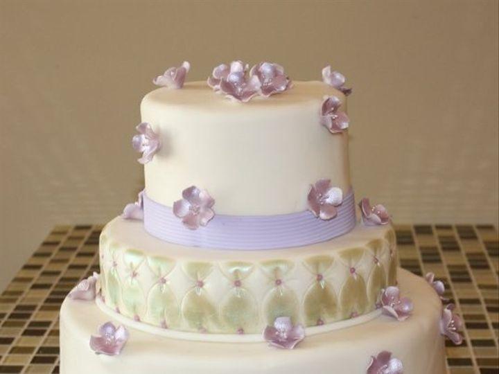 Tmx 1310159282305 Quiltedflowersbaltimorecakery Baltimore wedding cake