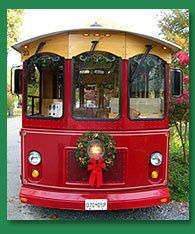 holly trolley exterior