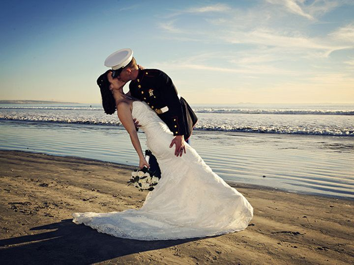 Tmx 1419364096827 Marinebeachkiss San Diego, CA wedding officiant