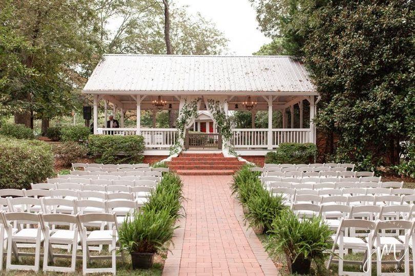Pavilion Garden ceremony