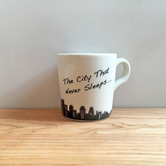 nyc single espresso cup