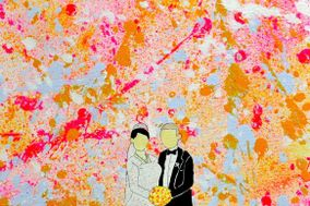Splash On Canvas Art