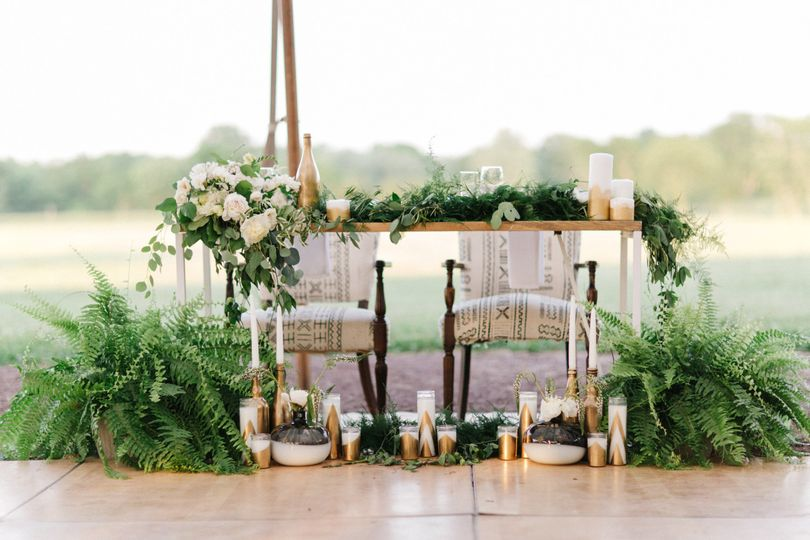Modern Vineyard Wedding Under the Stars
