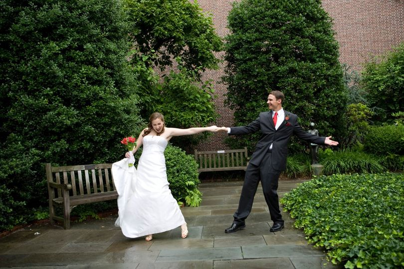 Garden dance at the college of physicians of philadelphia