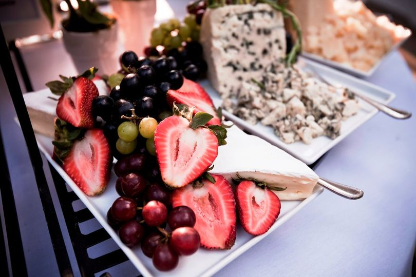 Strawberries and dips