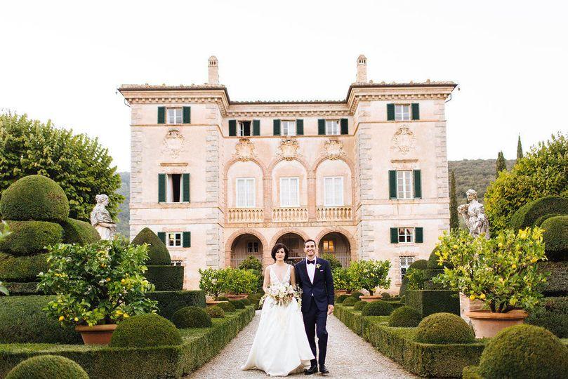 Villa Cetinale Wedding