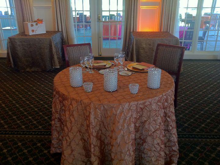 Newlyweds' table