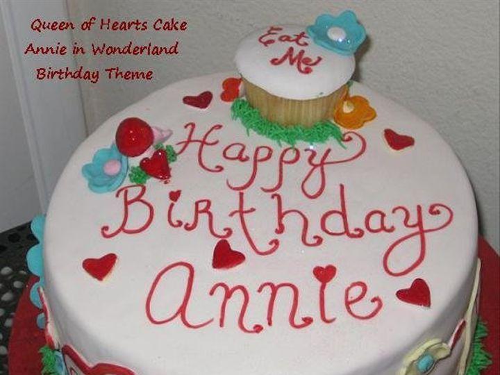 Tmx 1281511329388 Queenofhearts Anaheim, CA wedding cake