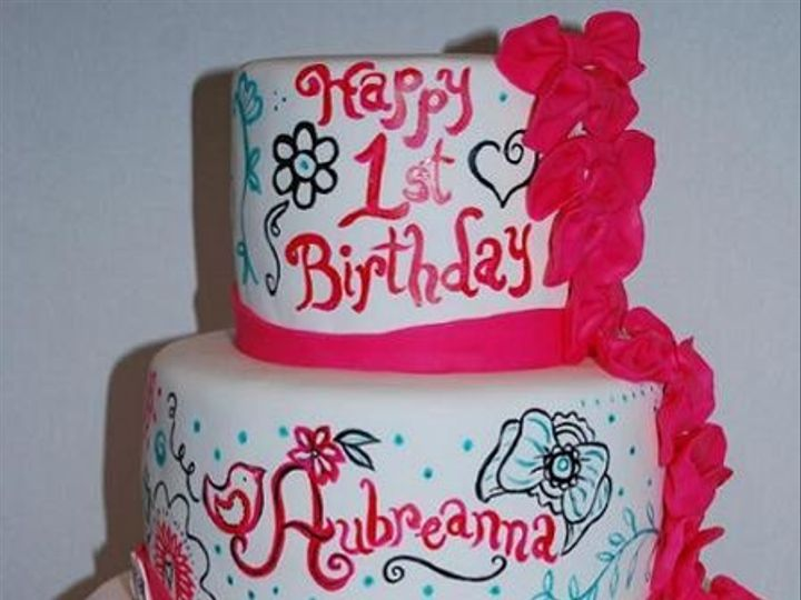 Tmx 1281511335060 Aubcake Anaheim, CA wedding cake