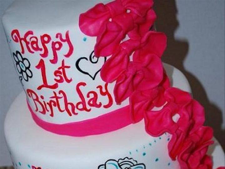 Tmx 1281511336888 Cakebows Anaheim, CA wedding cake